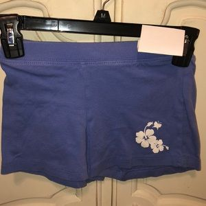 Periwinkle size 8 childrens place short Blue white